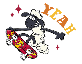 Shaun The Sheep Sticker 9