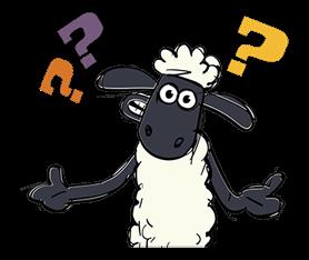 Shaun The Sheep Sticker 12