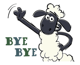Shaun The Sheep Sticker 16
