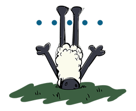 Shaun The Sheep Sticker 17