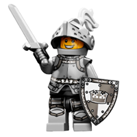 Lego Minifigures Sticker 3