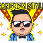 Psy Gangnam Style Stickers 6