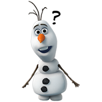 Olaf Disney Frozen Stickere 8