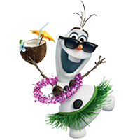 Olaf Disney Frozen Stickere 9