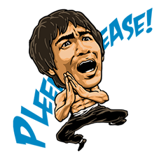 Bruce Lee Sticker 14