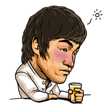 Bruce Lee Sticker 15