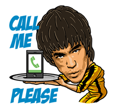 Bruce Lee Sticker 18