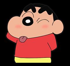 Crayon Shin-Chan Klistermärke 6
