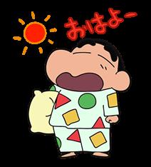 Mum boya Shin-Chan Sticker 36