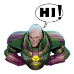 DC Comics Super-Villains Sticker 4