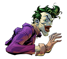 DC Comics Super-Villains Sticker 36