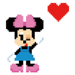 Sticker 8bit Disney 2