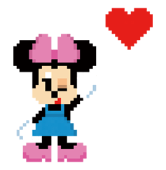 Disney 8bit Sticker 2