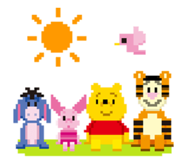 Disney 8bit Sticker 14