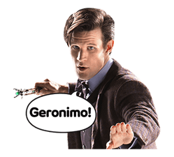 Doctor Who Sticker 13