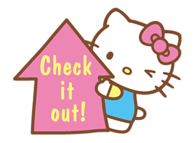 Hello Kitty Happy Days Sticker 6