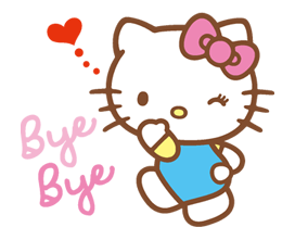 Hello Kitty Happy Days Sticker 7