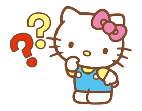 Hello Kitty Happy Days Sticker 8
