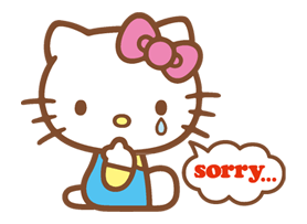 Hello Kitty Happy Days Sticker 9