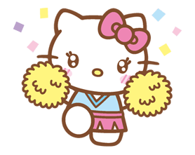 Hello Kitty Happy Days Sticker 10