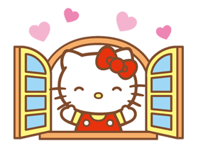 Hello Kitty Happy Days Sticker 11