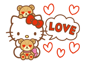 Hello Kitty Happy Days Sticker 13