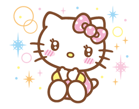 Hello Kitty Happy Days Sticker 14