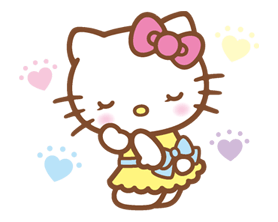 Hello Kitty Happy Days Sticker 16