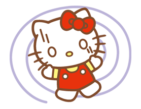 Hello Kitty Happy Days Sticker 17