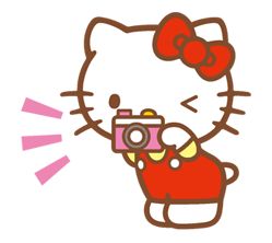 Hello Kitty Happy Days Sticker 18