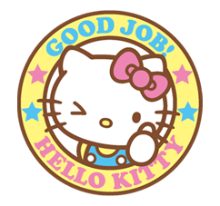 Hello Kitty Happy Days Sticker 19