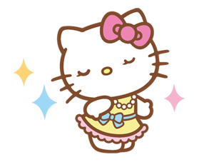 Hello Kitty Happy Days Sticker 20