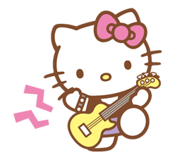 Hello Kitty Happy Days Sticker 23