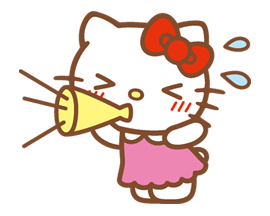 Hello Kitty Happy Days Sticker 26