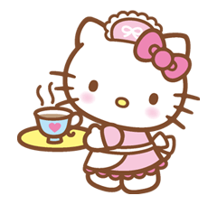 Hello Kitty Happy Days Sticker 27