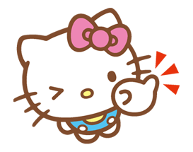 Hello Kitty Happy Days Sticker 28