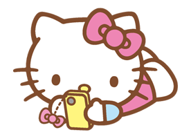 Hello Kitty Happy Days Sticker 31
