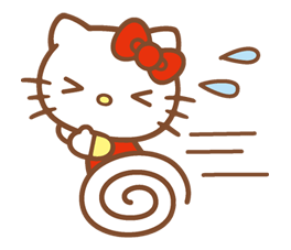 Hello Kitty Happy Days Sticker 33