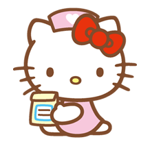 Hello Kitty Happy Days Sticker 34