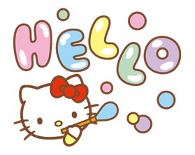 Hello Kitty Happy Days Sticker 36