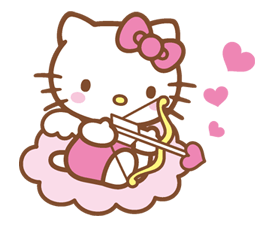 Hello Kitty Happy Days Sticker 37
