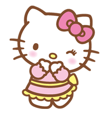 Hello Kitty Happy Days Sticker 38