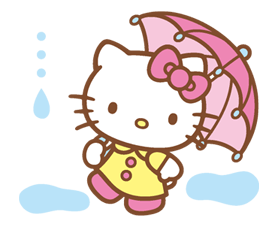 Hello Kitty Happy Days Sticker 39