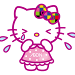 Hello Kitty Stiker 5