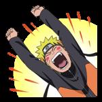 Naruto Shippuden naljepnica 17