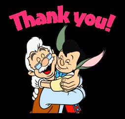 Pinocchio Sticker 4