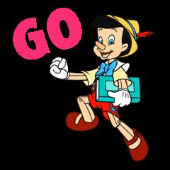 Pinocchio Sticker 6