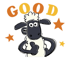 Shaun The Sheep Sticker 22