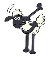Shaun The Sheep Sticker 25