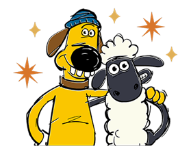 Shaun The Sheep Sticker 32